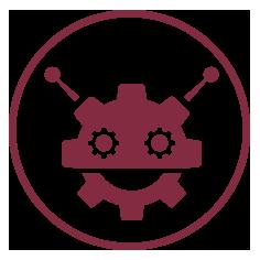 Iconos web queralt robot